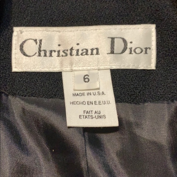 Christian Dior woman's tuxedo